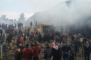انفجار تروریستی در شهر «أعزاز»