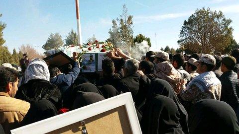 استقبال از شهید مدافع حرم
