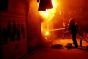 حریق شرکت «حلاجی الیاف» در کاشان مهار شد