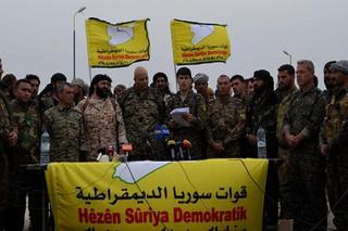 نیروهای موسوم به دموکراتیک سوری
