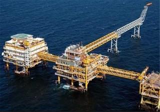 تولید گاز از سکوی فاز 21 پارس جنوبی