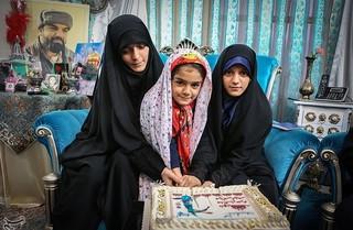 دلنوشته دختر شهید مدافع حرم