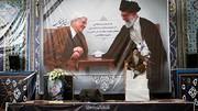 آیت الله هاشمی رفسنجانی در مسیر ارزش های اسلامی گام های استوار بر می داشت