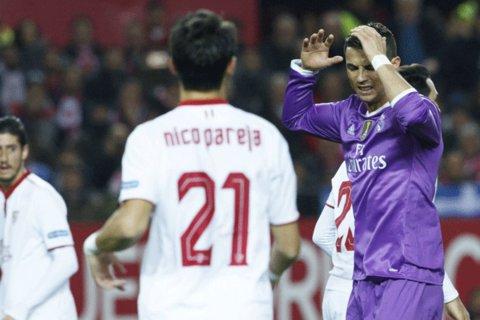 سویا به شکست ناپذیری رئال مادرید پایان داد/ تیم زیدان بازی برده را باخت