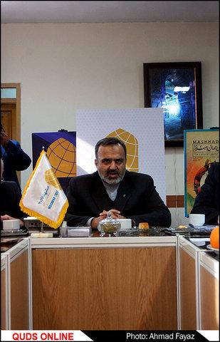 بازدید استاندار خراسان رضوی از دبیرخانه مشهد 2017