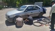 ۳۵۰ میلیون ریال اموال مسروقه داخل خودرو در اصفهان کشف شد