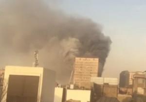 فیلم / آتش سوزی در ساختمان پلاسکو