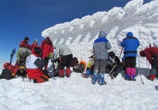 کوهنوردان برفی