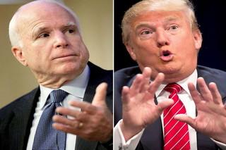 ترامپ و مک کین