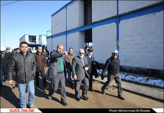 بازدید قائم مقام آستان قدس رضوی از پروژه زائر شهر رضوی و آغاز عملیات احداث آشپزخانه مرکزی/
