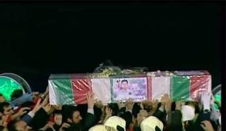 صوت / مداحی حاج محمد رضا طاهری در مراسم تشییع شهدای آتش نشان