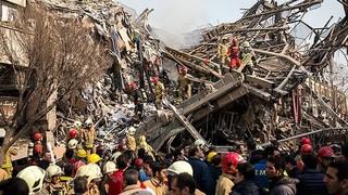 فیلم/ گزارش ویدئویی قالیباف به نمایندگان مجلس درباره حادثه پلاسکو