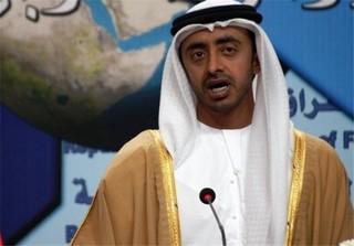 عبدالله بن زاید آل نهیان وزیر خارجه امارات
