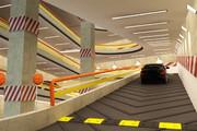 نخستین پارکینگ طبقاتی استان سمنان در شاهرود افتتاح شد