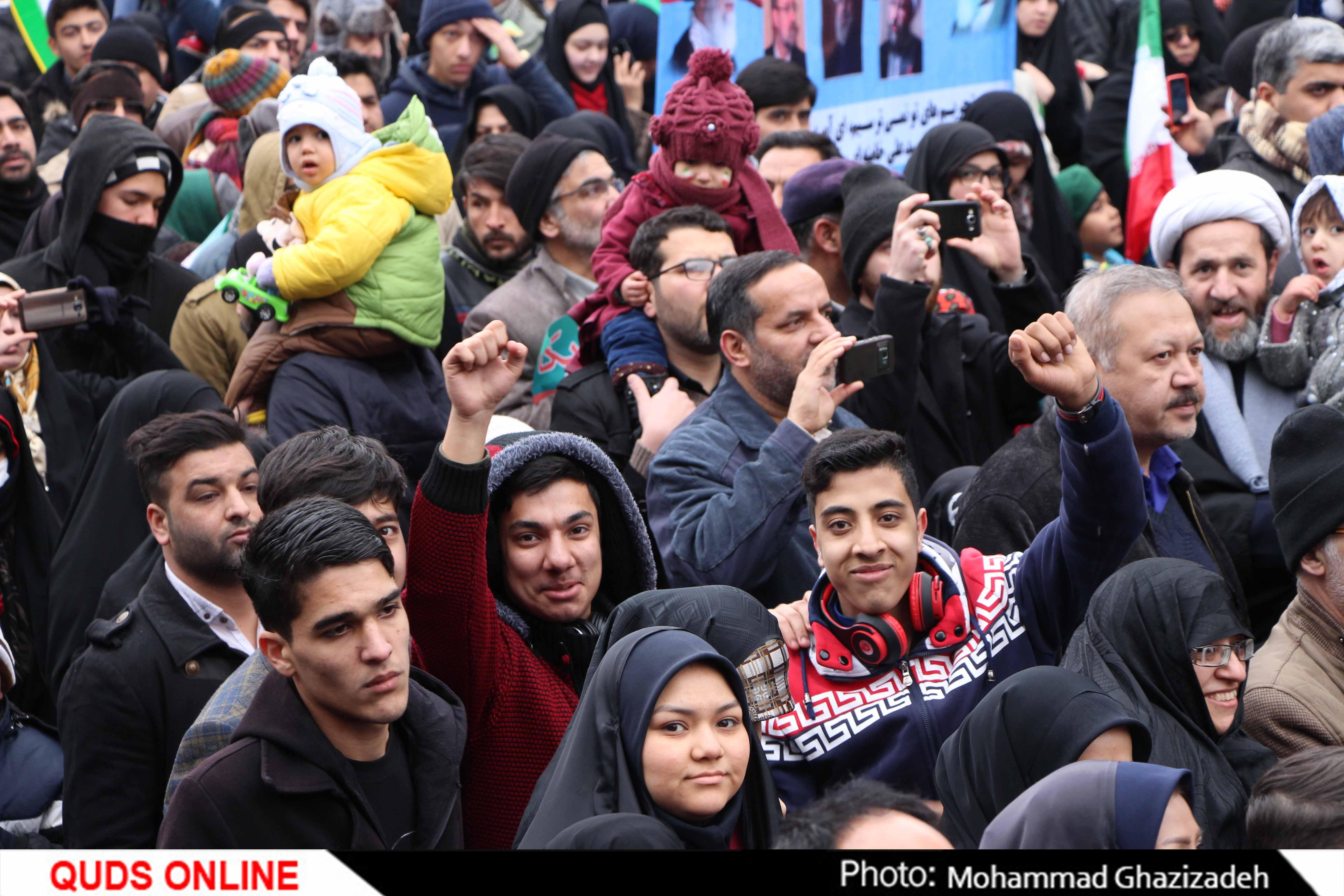 راهپیمایی 22 بهمن / گزارش تصویری 4