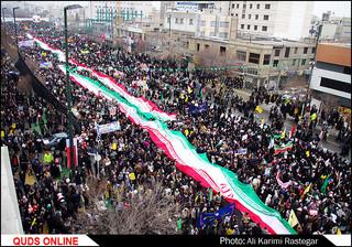 راهپیمایی 22 بهمن/ گزارش تصویری