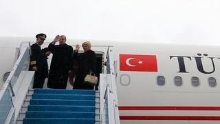 سفر اردوغان