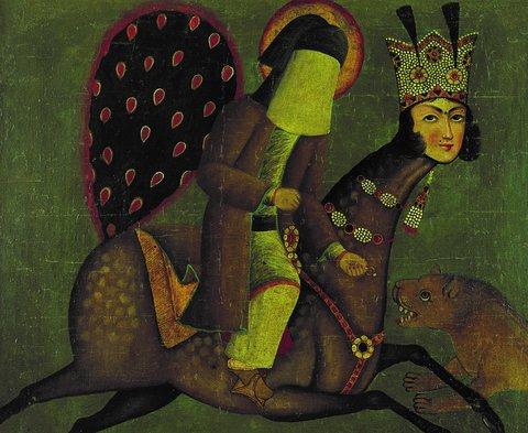 تابلو موزه آستان قدس رضوی