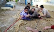 ۱۹ گردشگر گرفتار در سیلاب در خرم آباد نجات یافتند