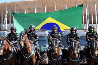 درگیری در فوتبال برزیل