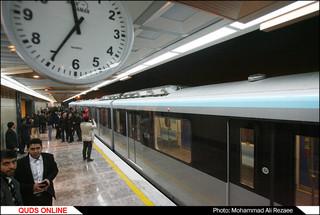 بهره برداری از 2 ایستگاه قطارشهری مشهد