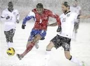 فیلم / بدترین شرایط جوی در دنیای فوتبال