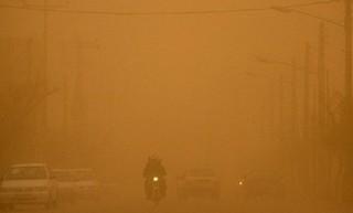 گرد و غبار شدید در مهران
