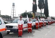 پوشش امدادی۱۵۹  حادثه توسط جمعیت هلال احمر مازندران