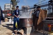 آئین مذهبی پخت«سمنو» در شهرضا برگزار شد