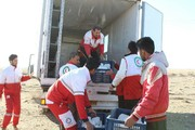 ۶۰۰۰ غذای گرم متبرک در مناطق سیل زده تایباد توزیع شد