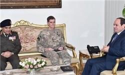 رئیس ستاد فرماندهی مرکزی آمریکا با السیسی