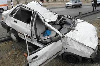 تصادف در محور خرم آباد-پلدختر