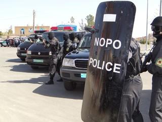 مانور اقتدار پلیس در بردسکن
