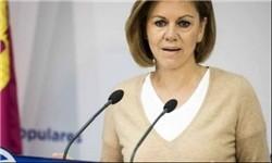 ماریا دولورس کاسپدال» وزیر دفاع اسپانیا