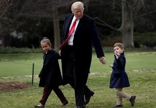 نوههای ترامپ