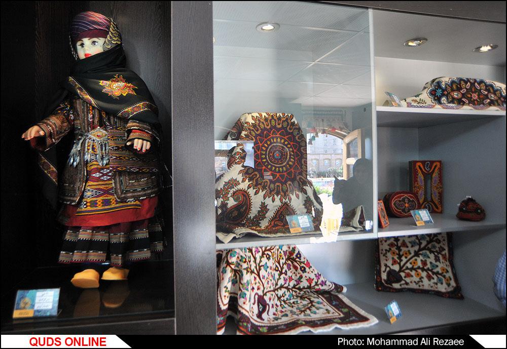 نمایشگاه صنایع دستی در خانه ملک