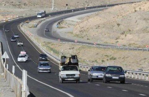 تردد وسائط نقلیه در جاده های لرستان