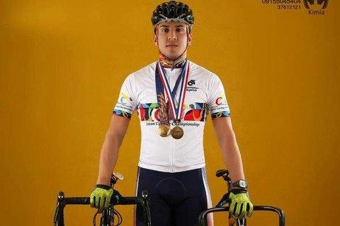 محمد دانشور - دوچرخه سواری