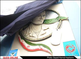 مراسم پرده برداری ازتمثال شهیدچراغچی