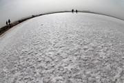 «دریاچه نمک» قم ثروتی بلااستفاده در دل کویر