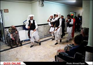 گزارش تصویری جشن نوروز در آسایشگاه معلولان شهید فیاض بخش