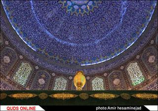 آخرین تصاویر ضریح حرمین عسگرین(ع) قبل از تعویض - سامرا