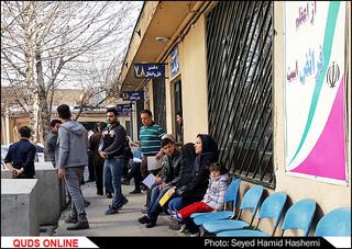 در ازدحام مرکز تعویض پلاک/تصاویر