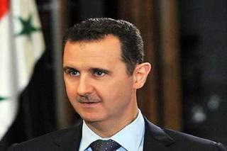 بشار الأسد - کراپشده