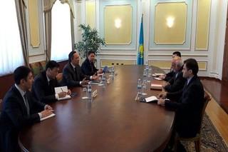 نشست ایران و قزاقستان