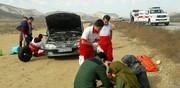 هلال احمر خراسان شمالی به ۱۲۹مصدوم حوادث جاده ای امدادرسانی کرد