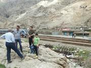 اولین قطار گردشگری کشور در مسیر اهواز به تنگ پنج اندیمشک شروع به کار کرد