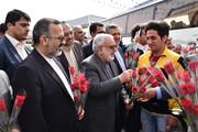 متنعم شدن همه زائران نوروزی از خوان پر برکت امام رضا(ع)