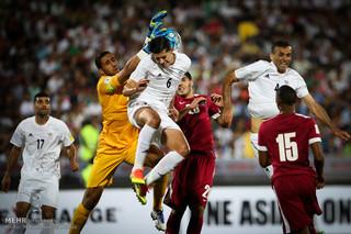 دیدار تیم ملی فوتبال ایران و قطر