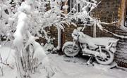 بارش ۵۰ سانتیمتری برف در گردنه  شاه منصوری/ ۳۰ روستا در محاصره برف و کولاک قرار دارد